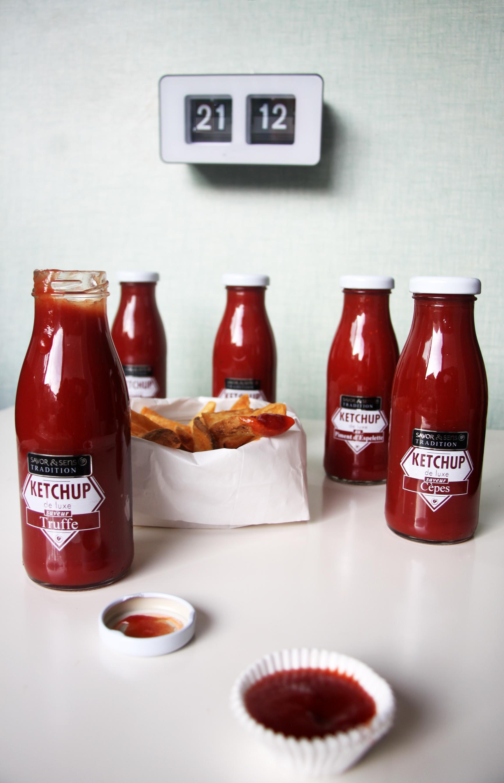 Ketchup de luxe au basilic Savor et Sens Tradition www.bioisbiotiful.com
